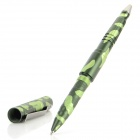 LAIX B007W Tungsten Steel + Aluminum Alloy Outdoor Self-Defense Clip-On Tactical Pen - Black
