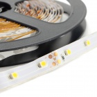 JRLED 72W 4000lm 3200K 900-SMD 3528 LED Warm White Light Strips - Negro + Blanco (15M / 3 PCS)