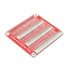 1-to-3 GPiO Expansion Board for Raspberry Pi 2 Model B & Raspberry Pi B+ - Red