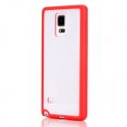 ROCK Enchanting Series Protective PC + TPU Back Shell w/ Soft Edging Case for Samsung Galaxy Note 4