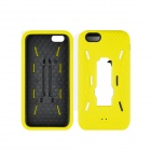 "Angibabe 2 in 1 Hybrid Hard PC Case Soft Silicone Back Cover for IPHONE 6 4.7"" - Yellow"