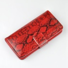 "Angibabe Snake Skin Pattern Flip-open PU Leather Case w/ Card Slots for IPHONE 6 4.7"" - Red"