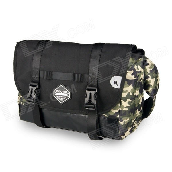 Men's Students Style Single Shoulder Back Bag for IPAD - Camouflage