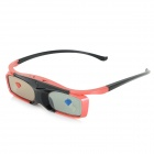 SG16-BT 3D Active Shutter Glasses w/ Bluetooth for 3D Projector / 3D TV - Black + Red