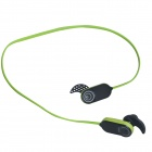 HV803 Wireless Stereo Bluetooth 3.0+EDR Sports Headphone - Black + Green