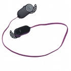 HV803 Wireless Stereo Bluetooth 3.0+EDR Sports Headphone - Black + Purple