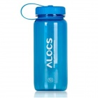 ALCOS WS-B04 Outdoor Tritan Sport Water w/ Filter Cover - Translucent Blue (650mL)