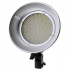 "FUSHITONG 2880LM 5500K profesjonell LED Video Light m / 7,75"" Reflector - svart"