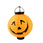 Halloween Costumes Hanging Paper Pumpkin Lantern - Orange