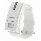 Separate Bluetooth V3.0 Headset Sporty Watch for IPHONE6 Samsung HTC + Cellphone - White