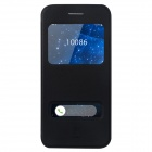 "Baseus Flip-open PU Case w/ View Window + Stand for IPHONE 6 4.7"" - Black"
