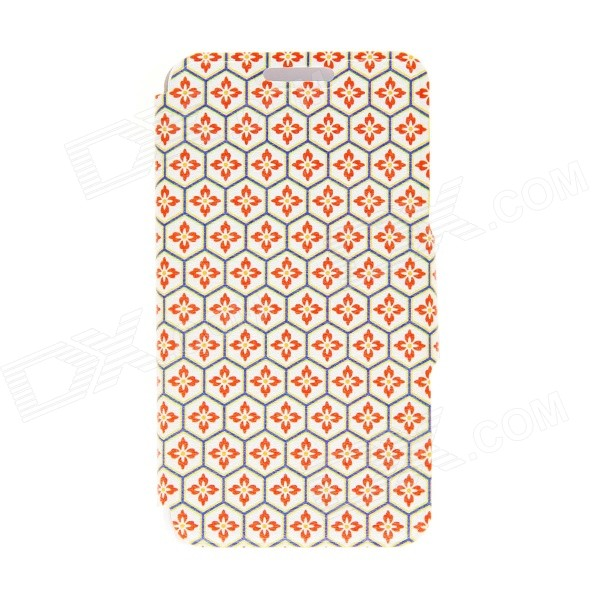 Kinston Honeycomb Lattice Pattern PU Leather Full Body Cover Case w/ Stand for IPHONE 6 PLUS 5.5 kinston a fat cat pattern pu leather full body case cover stand for iphone 6 plus white grey