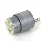 ZnDiy-BRY DC 12V 3.5RPM 37mm High Torque Gear Box Motor eléctrico - plata