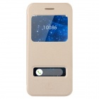"Baseus Flip-open PU Case w/ View Window + Stand for IPHONE 6 4.7"" - Champagne Gold"