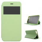 "Flip-open Case w/ Stand / Display Window for IPHONE 6 4.7""  - Green"