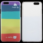 "PC Thin Protective Back Cover Case for IPHONE 6 4.7"" - Multicolored"