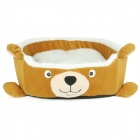 High Quality Fashion Little Bear Style Pet Bed - Brown (Size M)