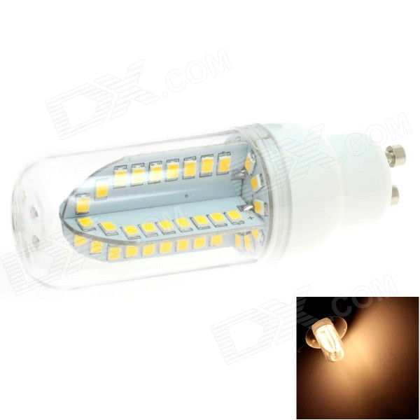 HONSCO GU10 5W 400lm 84-SMD 2835 LED 3000K Warm White Light Corn Bulb (AC 85~265V) e14 5w 110lm 3000k 8 smd 5630 led warm white light lamp bulb ac 85 265v
