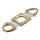 Muodikas 420 Stainless Steel sikari Cutter - Gold