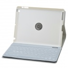 Separable Design 360 Degree Rotation Bluetooth V3.0 89-Key Keyboard w/ Case for IPAD 2/3/4 - Silver