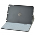 Separable Design 360 Degree Rotation Bluetooth V3.0 65-Key Keyboard w/ Case for IPAD AIR - Black