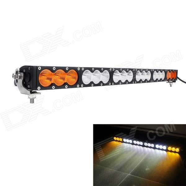 MZ 33 180W 14400LM 6500K White + Yellow LED Worklight Bar Offroad 4WD SUV Driving Lamp система освещения brand new 50 288w offroad 4wd atv 4 x 4