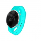 "Smart 0.97"" OLED Bluetooth v3.0 Pedometer Wrist Watch w/ Voice Call - Light Blue"