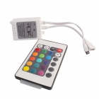 GC Water-resistant 72W 3000lm 300-SMD 5050 LED RGB Light Strip w/ R/C - White (5M / DC 12V)