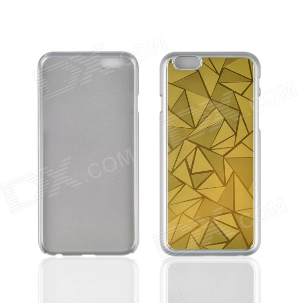 Angibabe Ultra-thin Rhombus Metal Aluminum Back Cover for IPHONE 6 4.7