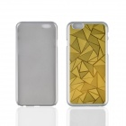 "Angibabe Ultra-thin Rhombus Metal Aluminum Back Cover for IPHONE 6 4.7"" - Gold"