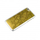 "Angibabe ultra-harva Rhombus metalli takaisin alumiini kattaa IPHONE 6 4.7""- Gold"