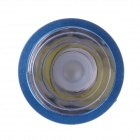 CYT BA20D Universal 12V 6W 700lm 6000K White Light LED Front Lamp for Motorcycle - Blue + Silver