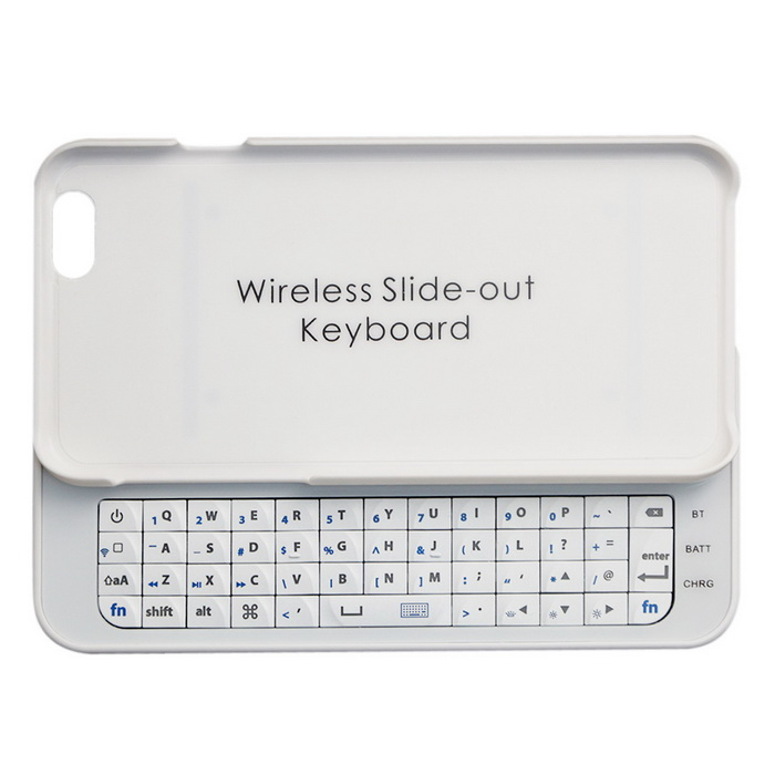 Slim Hard Cover w/ Slide-out Wireless Bluetooth Keyboard for IPHONE 6 4.7