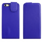 "ENKAY Protective Top Flip Open PU Leather + Plastic Case for IPHONE 6 4.7"" - Deep Blue"
