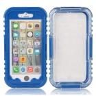 "EPGATE 6 Meters Underwater Protective Waterproof Case for IPHONE 6 4.7"" - Blue + Transparent"