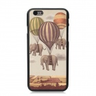 "Elonbo Balloon Hanging Elephant Plastic Hard Back Cover for IPHONE 6 4.7"" - Gray + Yellow"