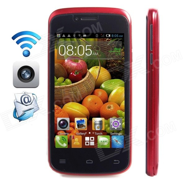 CUBOT GT95 Dual-Core Android 4.2.2 WCDMA Bar Phone w/ 4.0