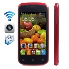 "CUBOT GT95 Dual-Core Android 4.2.2 WCDMA Bar Phone w/ 4.0"" IPS, Wi-Fi, 4GB RAM - Red + Black"