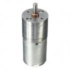 12V 60RPM Large Torque DC Gear Motor - Silver