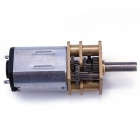 12mm 12GAGB DC12V 50RPM Precision Gear Motor - Silver + Gold