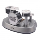 NEJE DG0006-1 Mini Finger Touch Drums Set / Musical Toy - Silver + Black