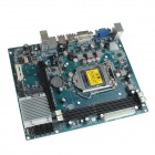 Replacement Intel H61 Micro ATX LGA 1155 DDR3 Computer Motherboard - Blue + Silver