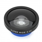 Universele Mobiele Telefoon 0.4X Wide Angle Lens voor IPHONE / Samsung / IPAD - Deep Blue