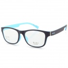 G8205 C6 Stylish Lightweight TR90 Frame PC Lens Sports Optical Eyeglasses - Black + Blue