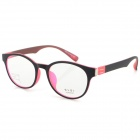 G8204 C10 Stylish Lightweight TR90 Frame PC Lens Sports Optical Eyeglasses - Black + Pink