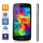 "F-G906 5.0"" Touch Screen Android 4.4.2 Dual-Core 3G Phone w/ 1GB RAM, 4GB ROM, Dual-SIM - Black"