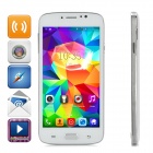 "F-G906 5.0"" Touch Screen Android 4.4.2 Dual-Core 3G Phone w/ 1GB RAM, 4GB ROM, Dual-SIM - White"