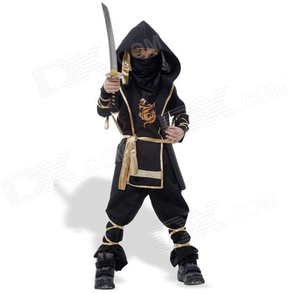 GQW1 Halloween Ninja/Assassin Style Cosplay Suit - Black (XL) andrenov n limits of the scientific concepts о пределах научных понятий