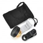 Universal Mobile Phone 0.4X Wide Angle Lens for IPHONE / Samsung / IPAD - Golden