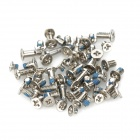 Replacement Stainless Steel Screws Set for IPHONE 6 - Silver + Blue (57 PCS)